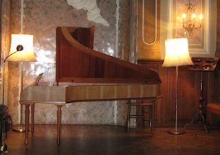 Fortepiano im Salvator-Saal